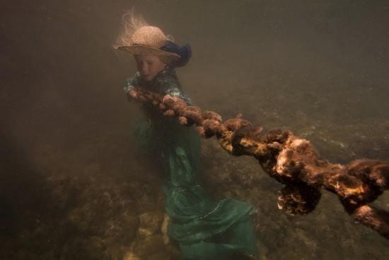 Alice Bochňáková a její fotografie pod vodou